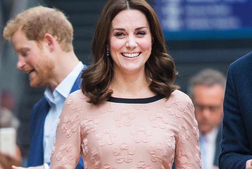 what will pregnant princess kate wear to prince harry and