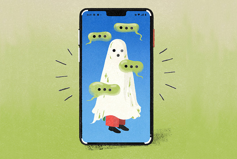Here's How to Deal With Being Ghosted