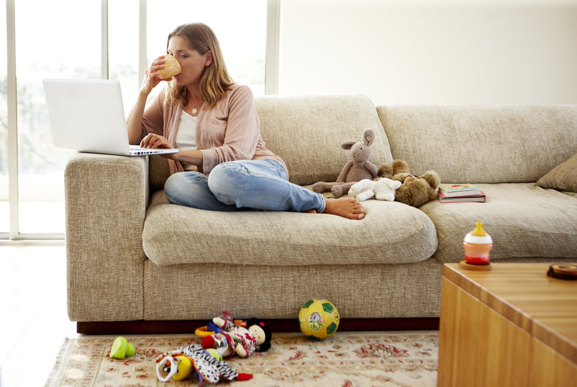 Attention, Working Parents: These Are the Least-Stressful Work From Home Jobs