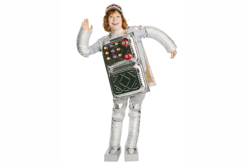 The Costume Retro Robot Cool Halloween Costumes You Can