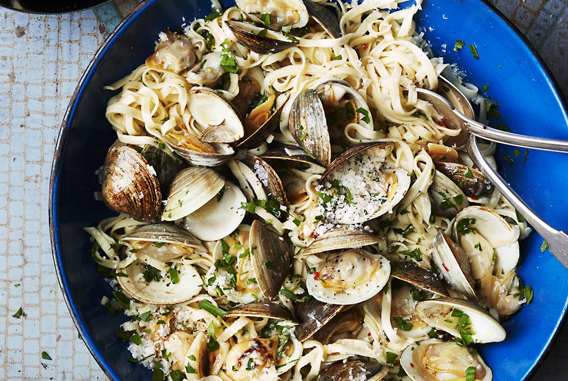 Image result for Linguini and clams