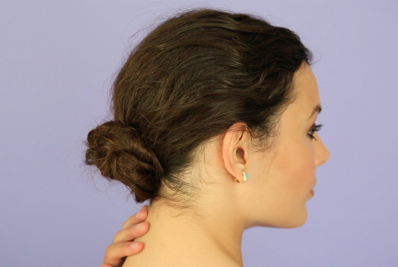 Hairstyles Runescape: Video: Low Bun How To