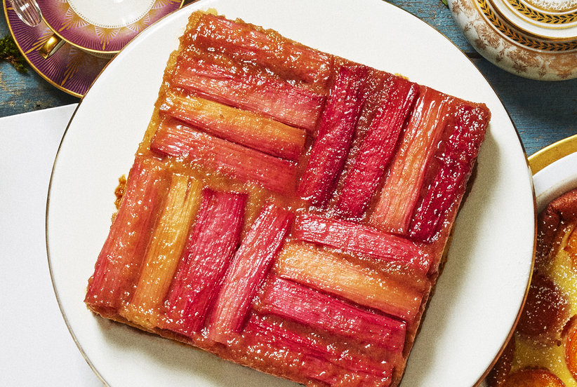 4 Easy Rhubarb Desserts You'll Want to Make Every Day This Spring