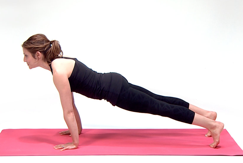 Video Yoga Plank Pose Real Simple
