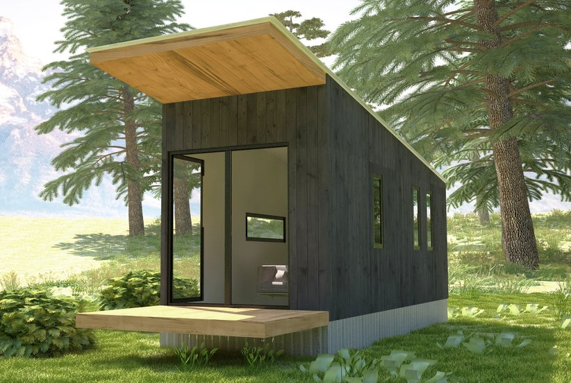 wheelhaus 10 tiny houses you can rent or even buy real simple. Black Bedroom Furniture Sets. Home Design Ideas