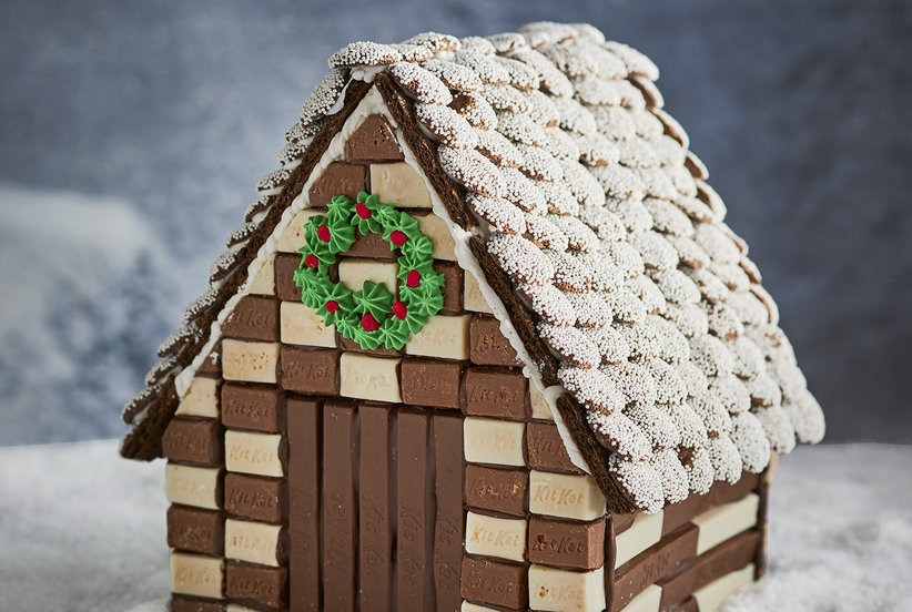 Chocolate Gingerbread House Recipe Real Simple
