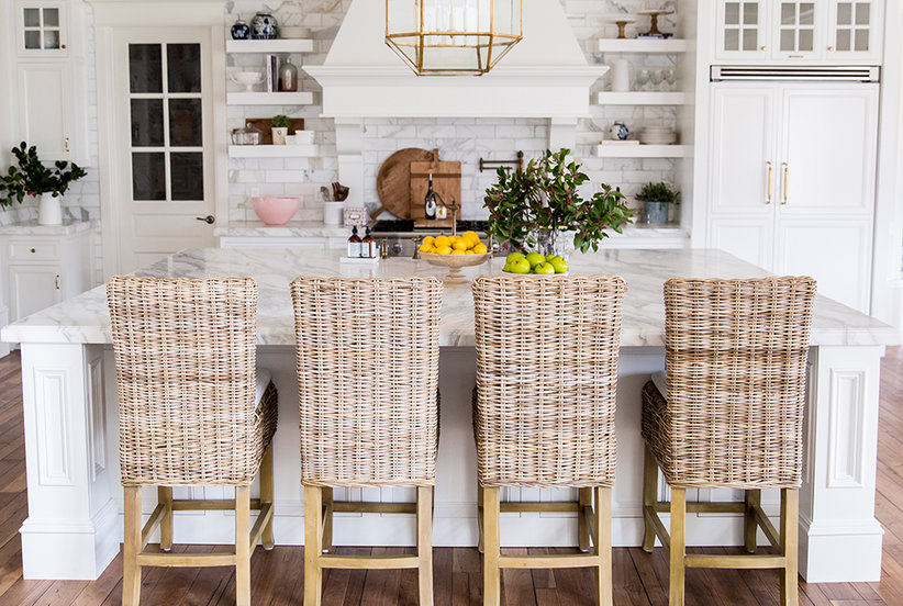 Rach Parcell PinkPeonies - Spring Kitchen After