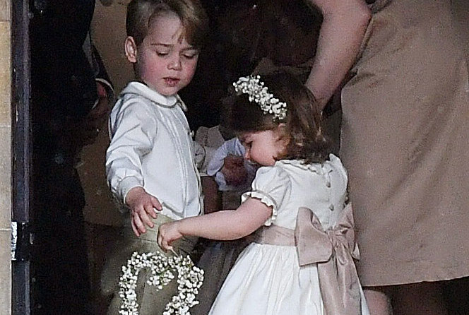 The Roles Prince George and Princess Charlotte Will Likely Play in Prince Harry and Meghan Markle's Wedding