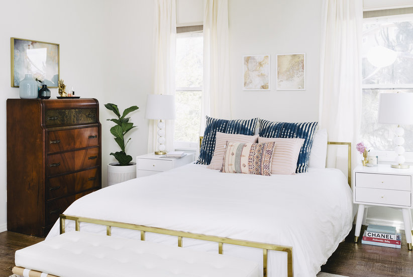 mesmerizing summer bedroom decorating ideas | Small Decor Swaps for a Summer-Ready Bedroom | Real Simple