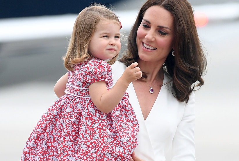 See the Adorable Photos from Princess Charlotte's First Day of School