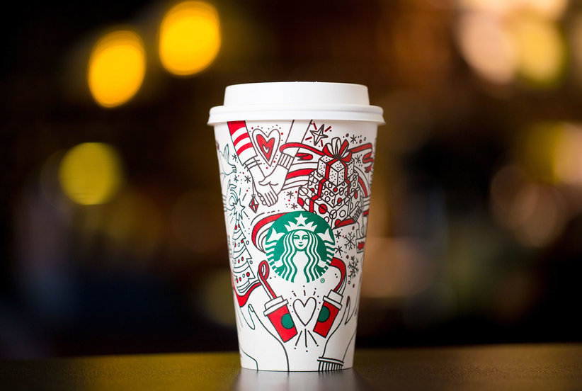 This 22-Year Old College Student Turns Starbucks Cups Into Works of Art