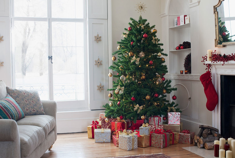 How to Decorate Your Entire Home for the Holidays for Less Than $75