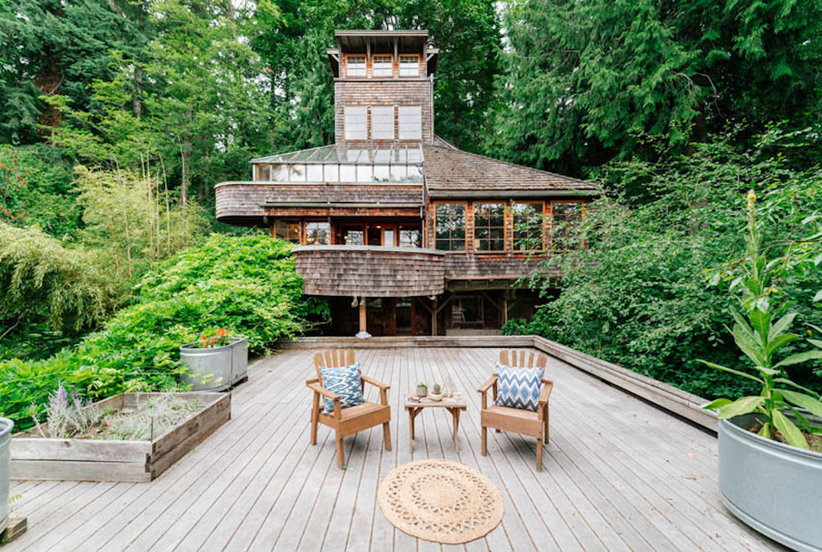 Zillow Announced the 2017 House of the Year—and It's a 5-Story Treehouse