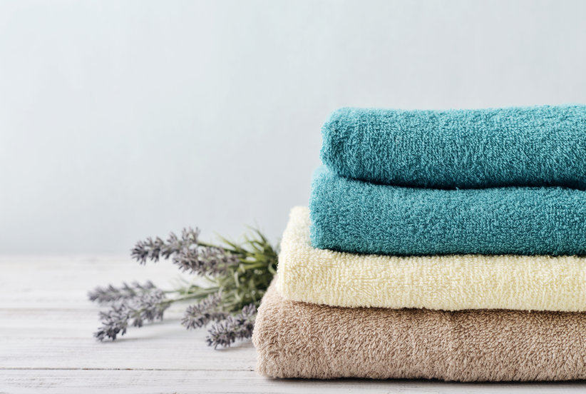 These Magical Bacteria-Blocking Bath Towels Will Never Smell Mildewy