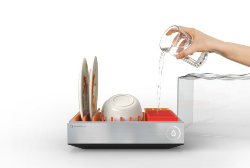 This Dishwasher Is So Small It Fits on Your Kitchen Counter