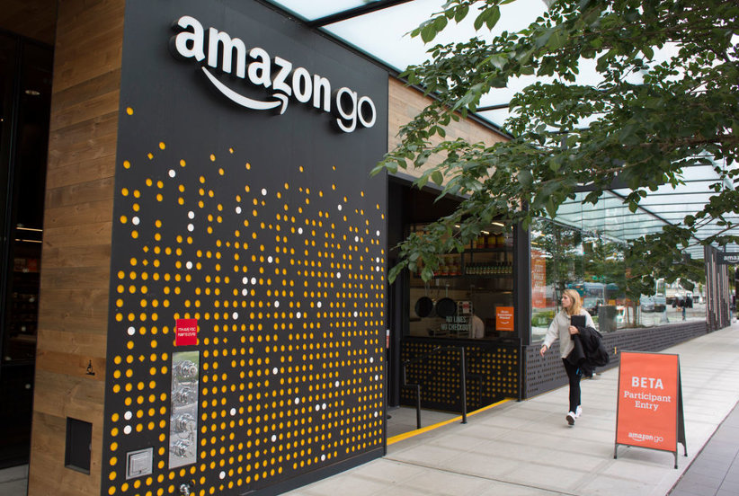 Ultra-Convenient Amazon Go Store Now Open