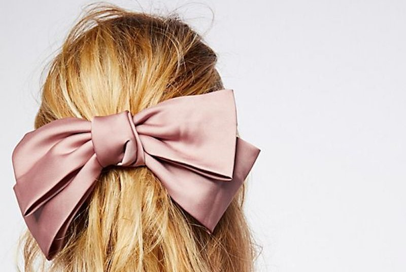 ribbon hair style this is the hair accessory trend you ll be seeing 6595