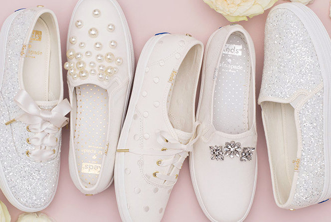 Keds and Kate Spade Launch Dreamy Line of Wedding Sneakers