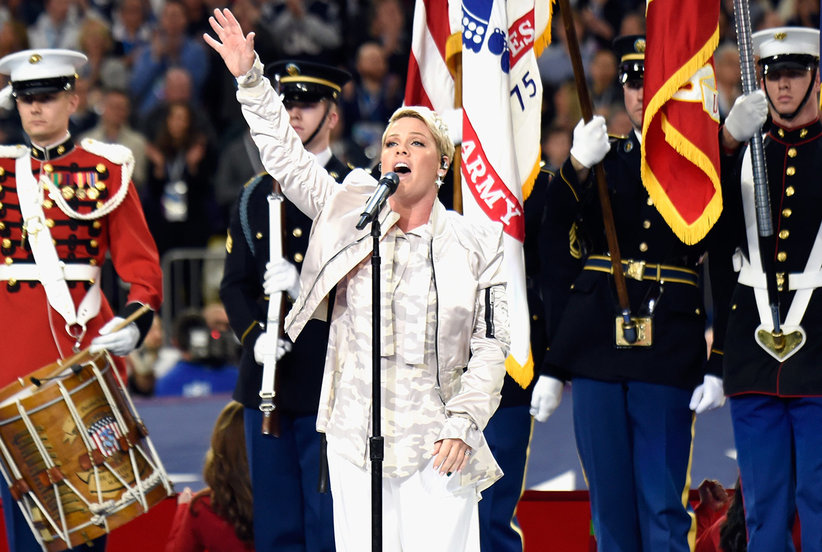 Pink's Epic Response to Super Bowl Performance Haters
