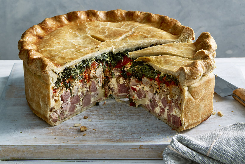 Italian Easter Pie Recipe: How to Make Pizza Rustica ...