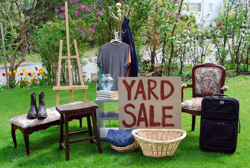 How to Score The Best Used Stuff at Yard Sales, Estate Sales, and Garage Sales