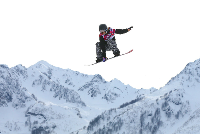 Olympics Snowboarding Coach Battles Nerves With Knitting