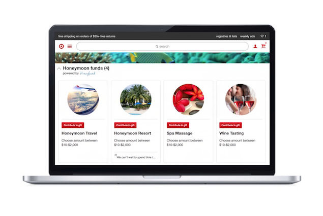 Target Now Lets You Register—for Your Honeymoon!