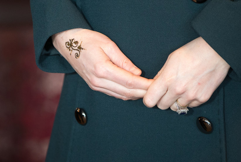 Kate Middleton Surprised Her Fans by Getting a Henna Tattoo This Week