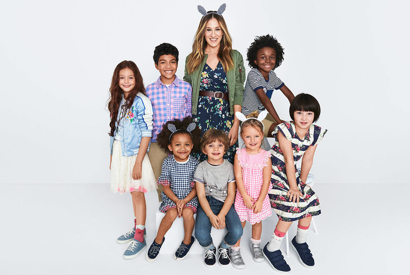 Sarah Jessica Parker Designed a Gap Kids Collection—We Demand One for Grown-Ups, Too!