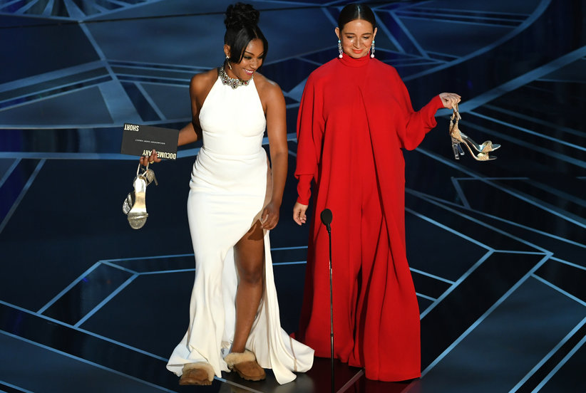 Tiffany Haddish Wore Cozy Ugg Slippers At The Oscars And