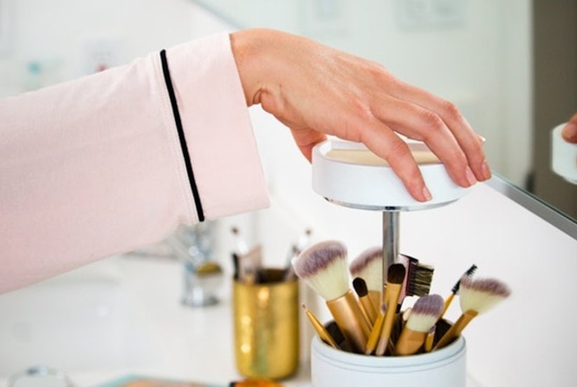 This Genius Invention Will Clean Your Makeup Brushes for You