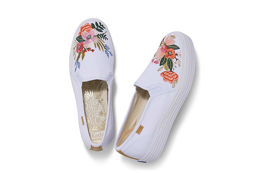 The Sneakers We Need From the Latest Keds and Rifle Paper Collab