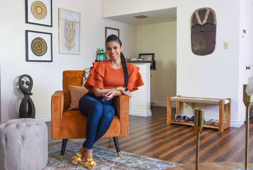 Check Out This Is Us Star Susan Kelechi Watson's Colorful Home Makeover