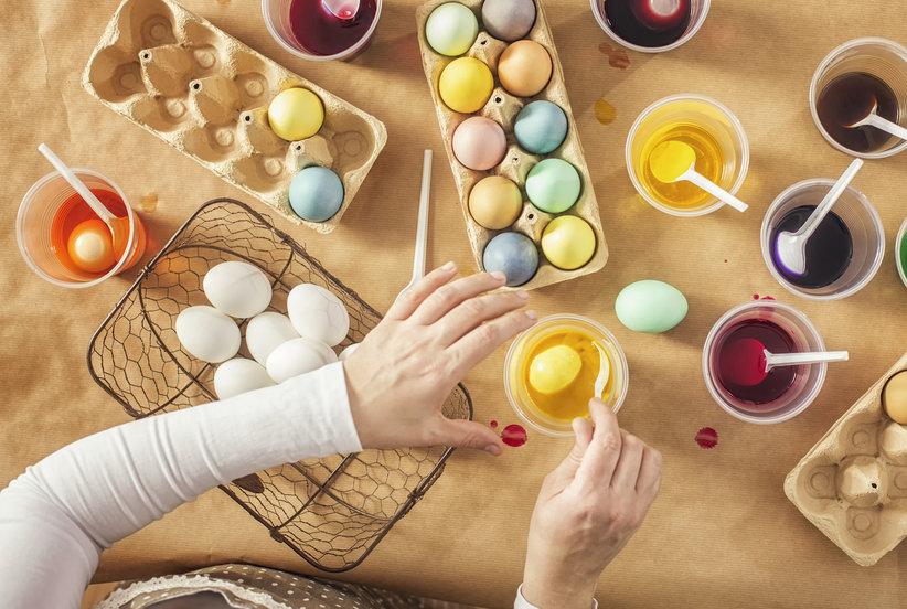The Easiest Way to Dye Easter Eggs Naturally