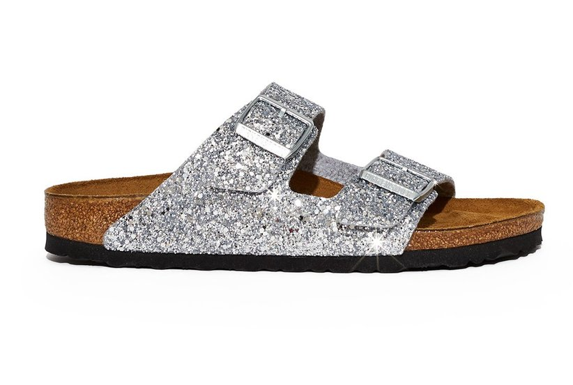 These New Glitter Birkenstocks Are the Glam-Yet-Comfy Shoes You've Been Waiting for