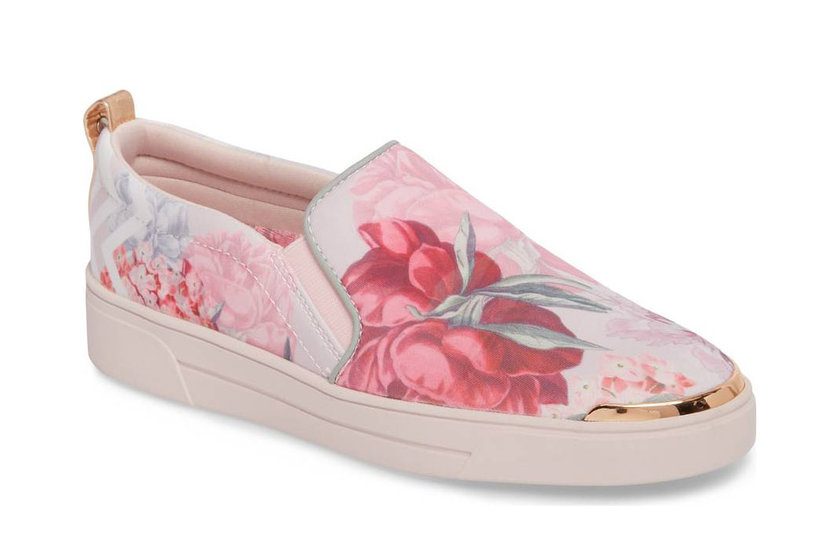 5 Gorgeous Floral Sneakers to Add Some Spring to Your Step