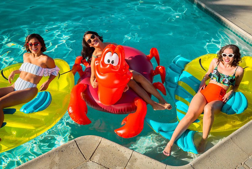 Disney's Little Mermaid Pool Party Line Is a Childhood Dream Come True