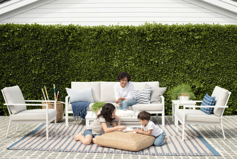 We Can't Believe This Sustainable Outdoor Furniture Line Is So Affordable