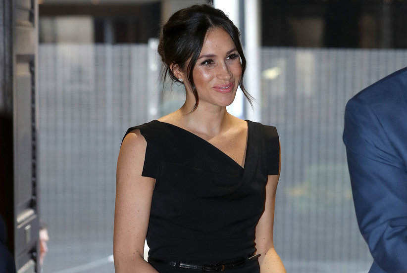 Meghan Markle's Iconic Little Black Dress Is On Major Sale at Bloomingdale's