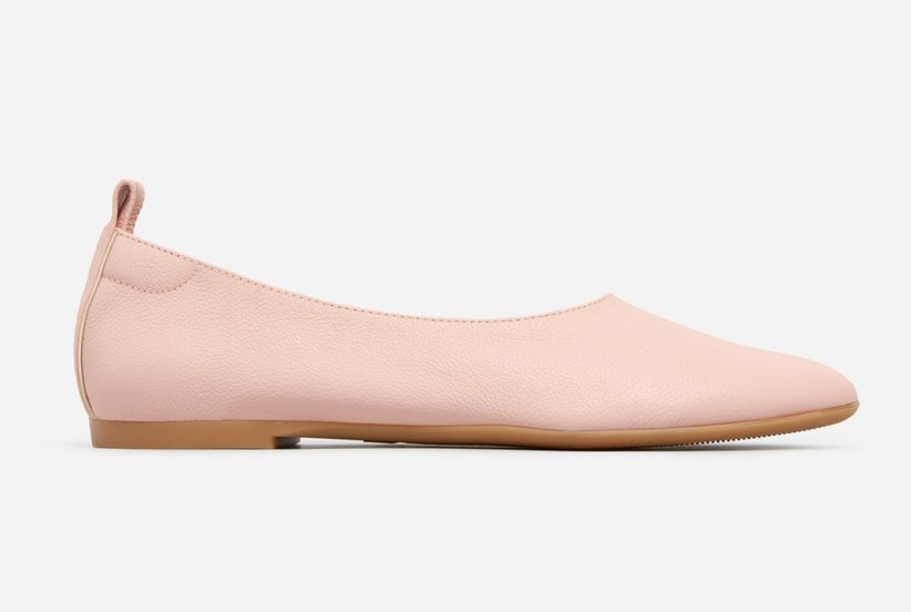 Those Everlane Heels With the 28,000-Person Waitlist Have Now Been Turned Into Super Comfy Flats