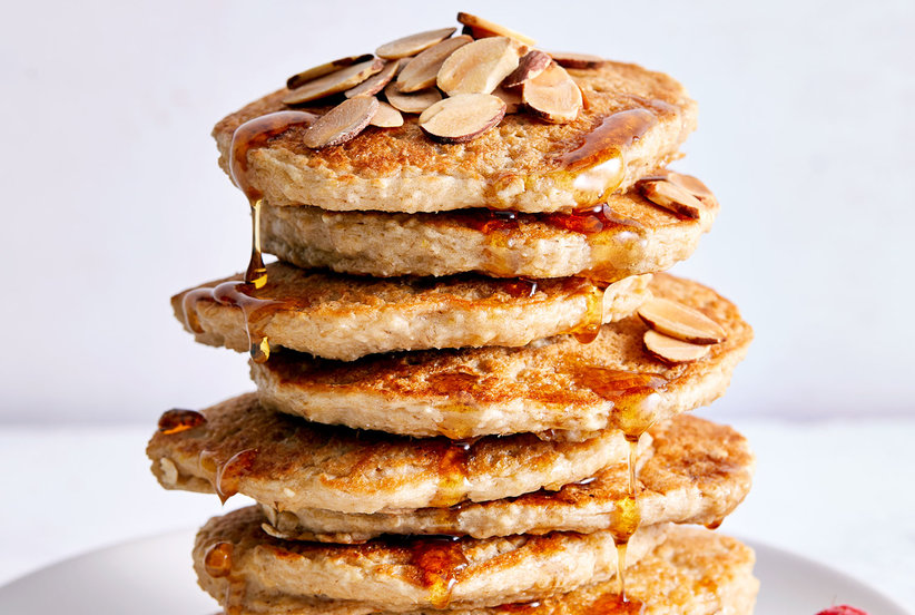 One Secret Ingredient Packs These 'Healthy' Pancakes With Protein and Flavor