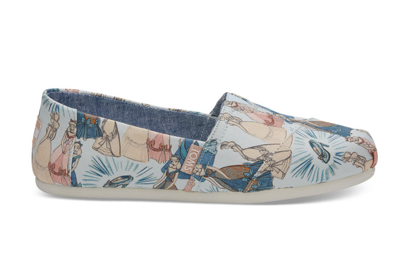 The New Disney Sneaker Line by TOMS Is Made for The Inner Princess in All of Us