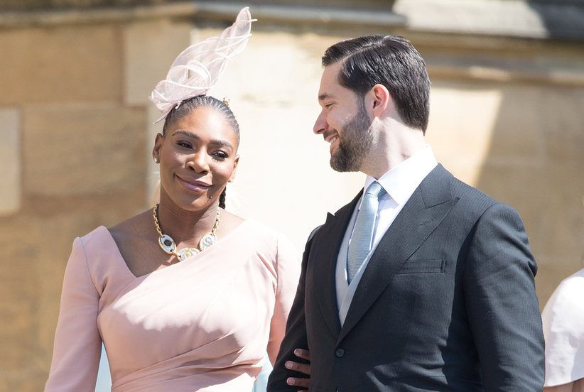 The Reason Serena Williams Wore Sneakers to a Royal Wedding Event Is Totally Inspiring