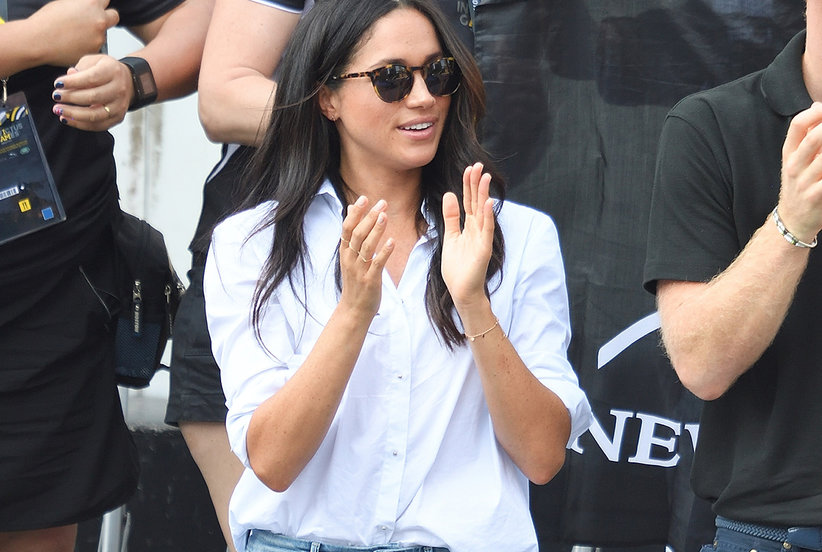 Meghan Markle's Sold-Out Jeans Are Back in Stock