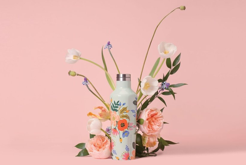 The Prettiest Water Bottles Ever, From Rifle Paper Co.'s Latest Collab