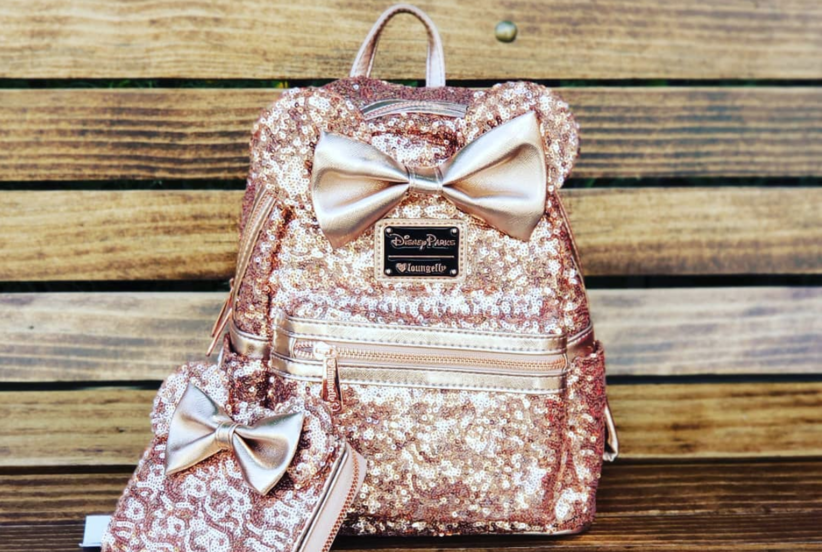 Disney Fans Are Absolutely Obsessed With This New Rose Gold Backpack