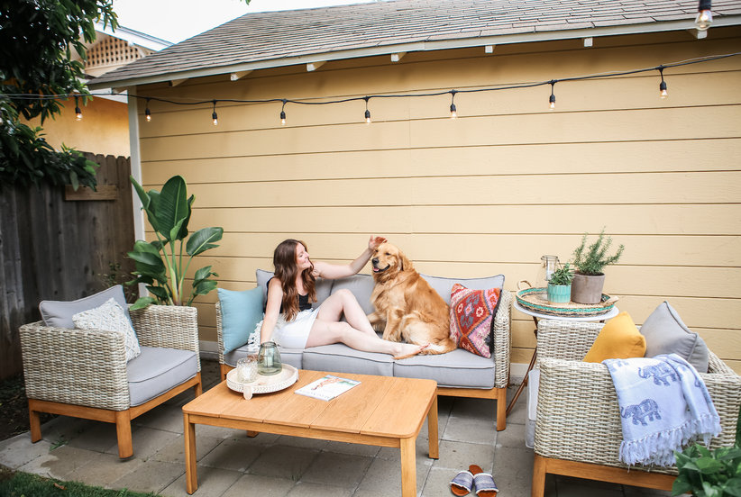 3 Super-Simple Design Ideas to Steal From One Blogger's Backyard Makeover