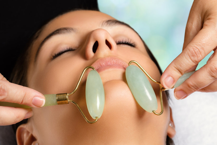 Do Those Quartz and Jade Rollers Actually Do Anything for Your Face?