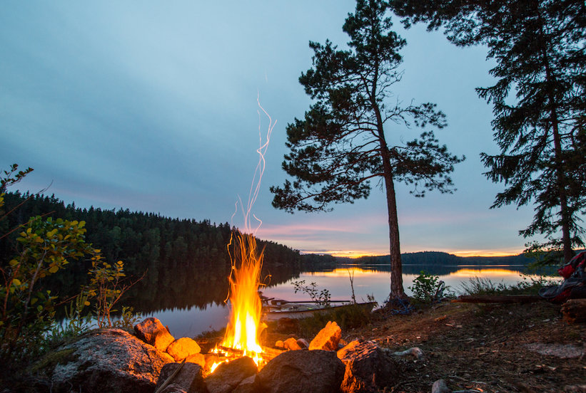 How to Build a Fire While Camping in 5 Easy Steps