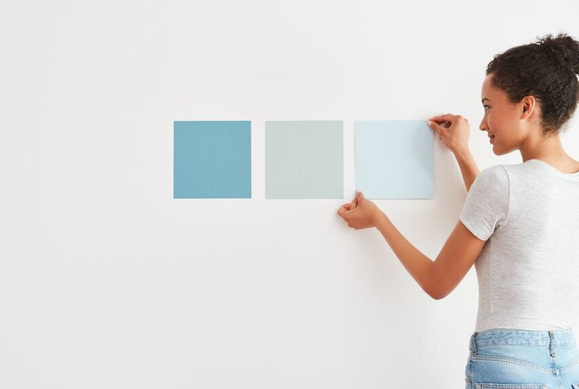 This Interior Designer's Trick for How to Paint a Room Is Genius